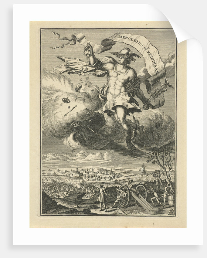 Title page of Mercury or orator by Coenraad de Putter