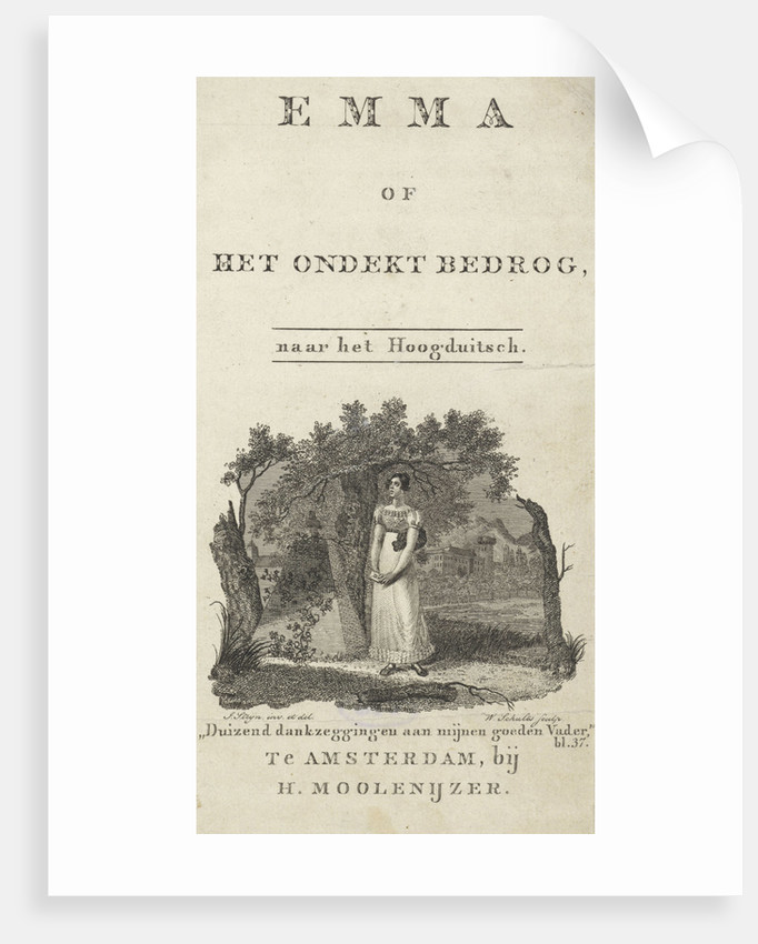 Woman at a grave by Hendrik Moolenyzer