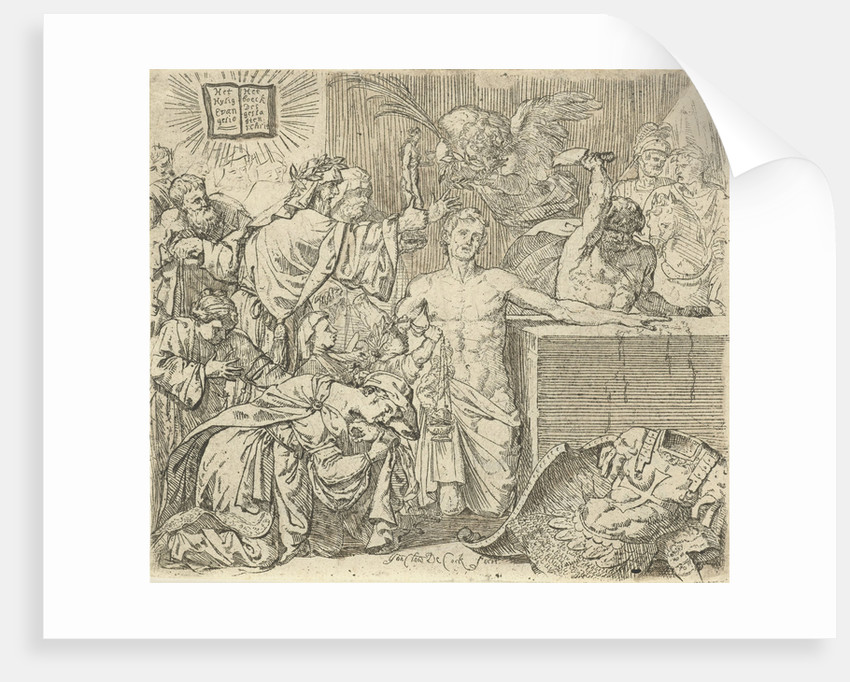 Martyrdom of Saint Quirinus of Neuss by Jan Claudius de Cock