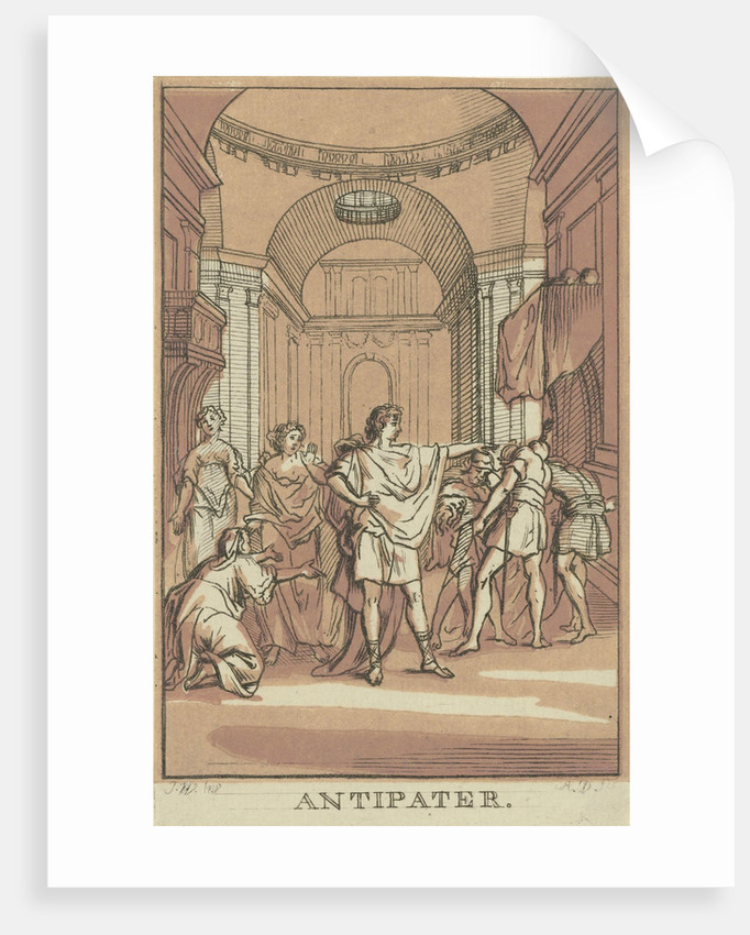 Antipater by Abraham Delfos