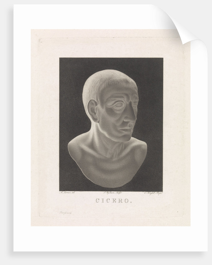 Bust of Cicero by C. Forsfell