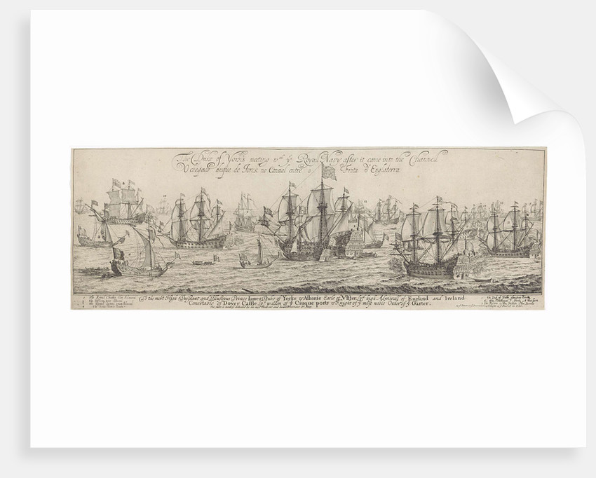 The ships of the Duke of York to meet the ships of the Royal Navy, by Dirk Stoop