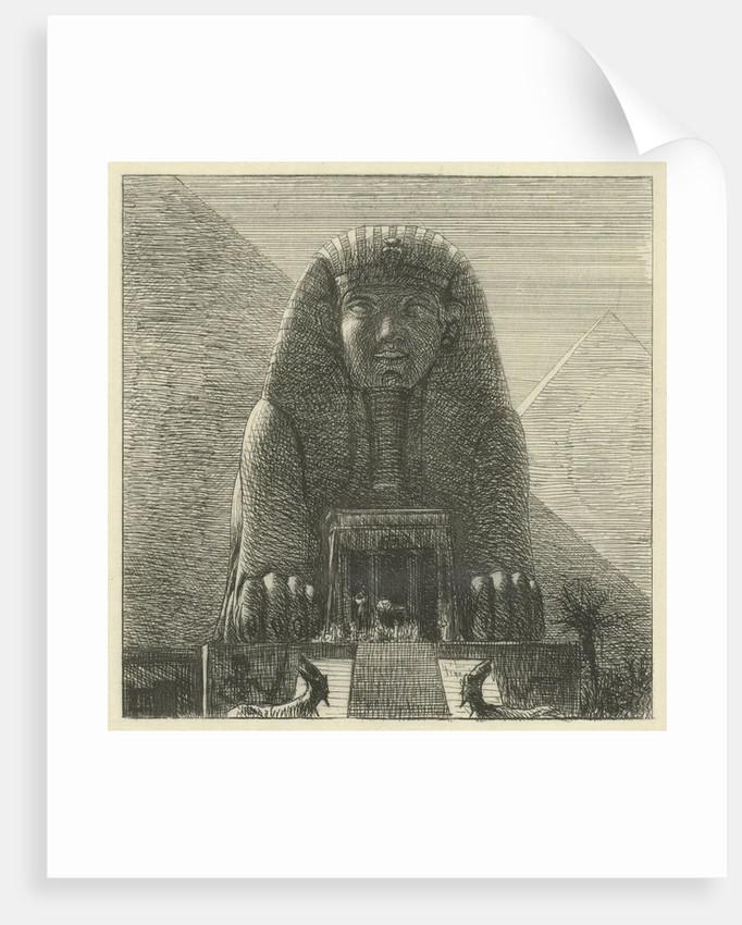 Sphinx by Lawrence Alma Tadema