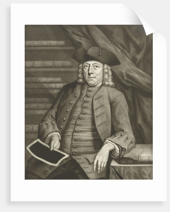 Portrait of Henry Busserus by Pieter Louw