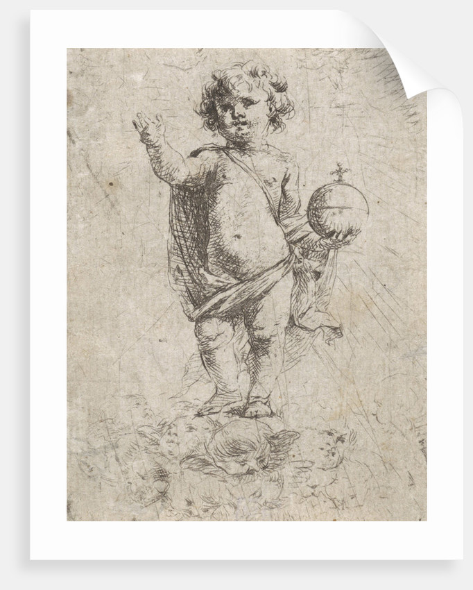 Christ Child as Salvator Mundi by Cornelis Schut I
