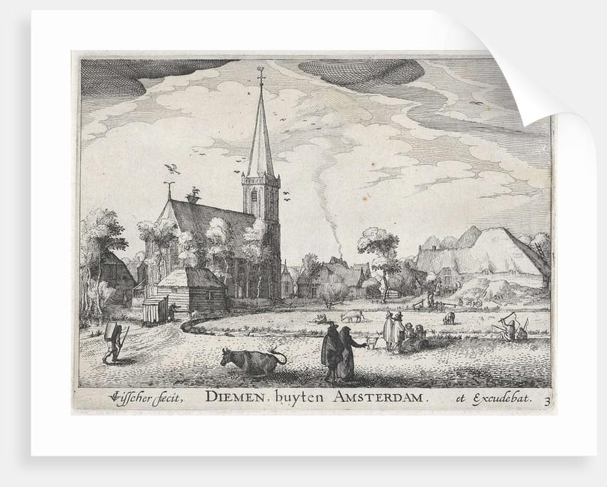 View Diemen by Claes Jansz. Visscher II