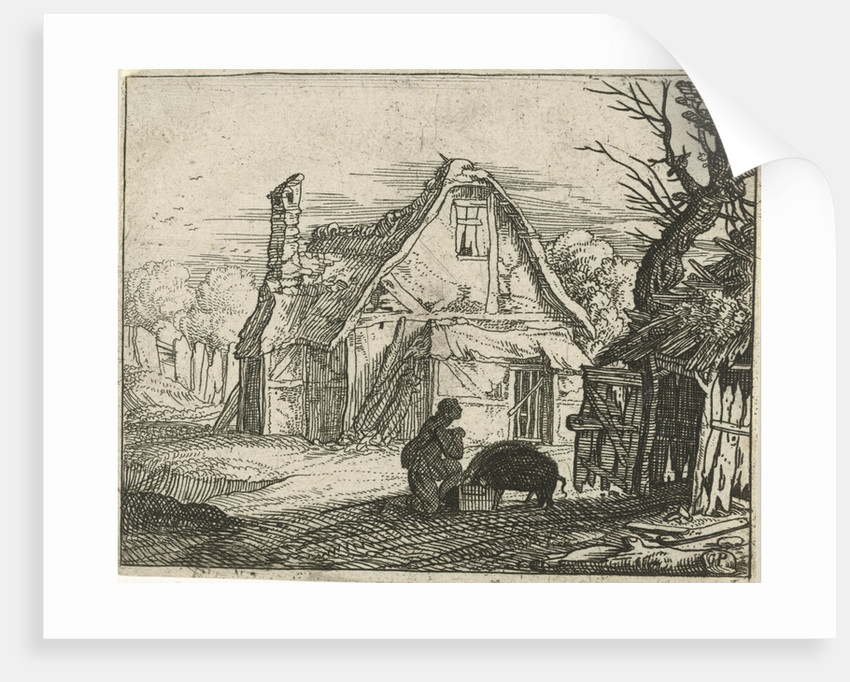 The prodigal son as a swineherd by Gillis Peeters I