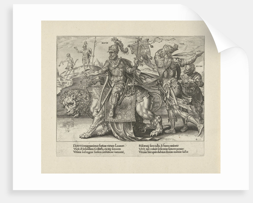 Triumph of David by Joannes Galle