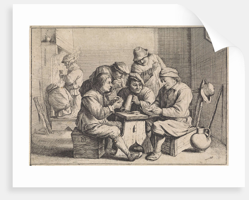 Card Players by Anonymous