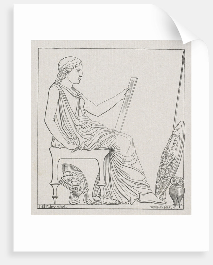 Vignette with Minerva by Smeeton Tilly