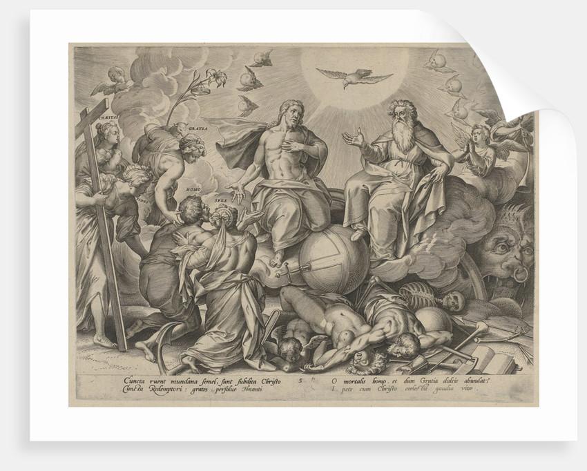 Last Judgment by Ambrosius Francken I