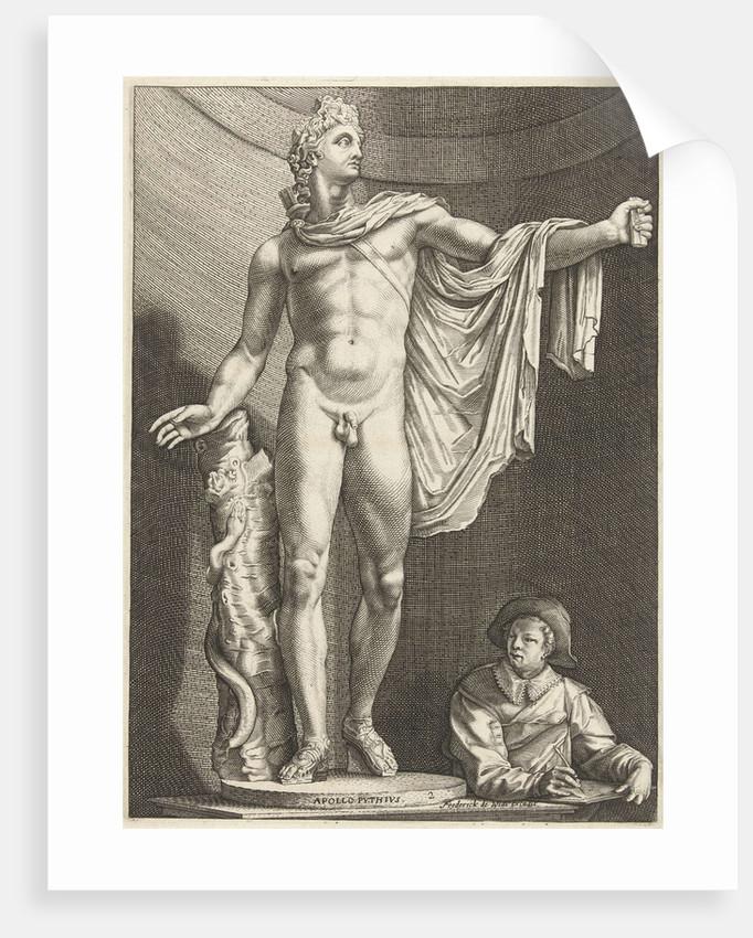 Apollo Belvedere by Hendrick Goltzius