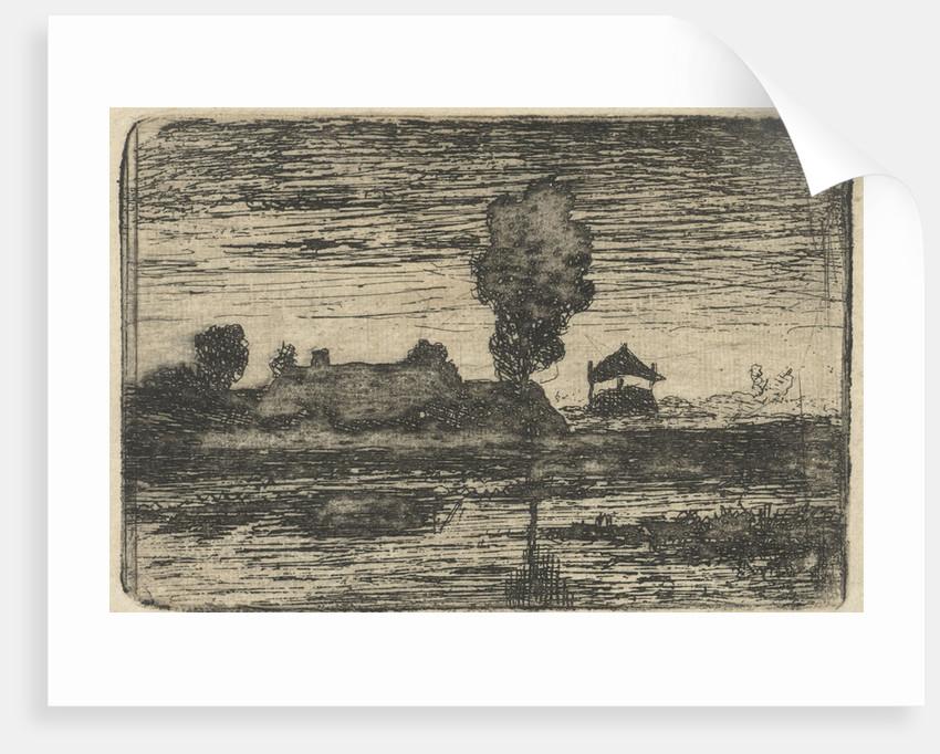 Landscape with haystack by Paul Joseph Constantin Gabriël
