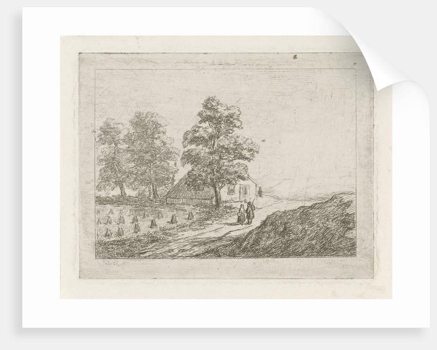 Hilly landscape by David van der Kellen II