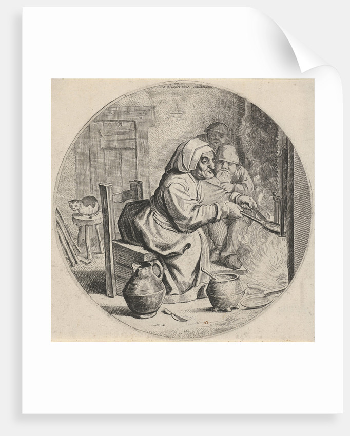 Pancakes Bakster by Theodor Matham