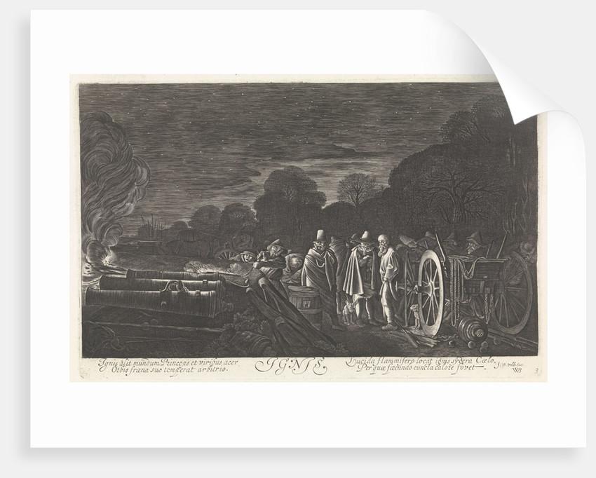 Fire (Ignis) by Jan van de Velde II