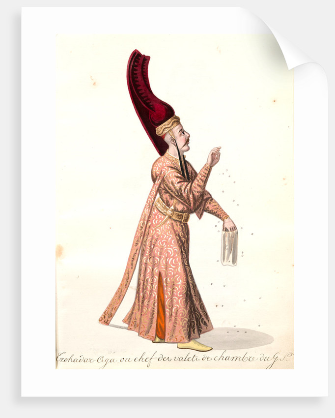 Czohadar-aga by Mahmud II