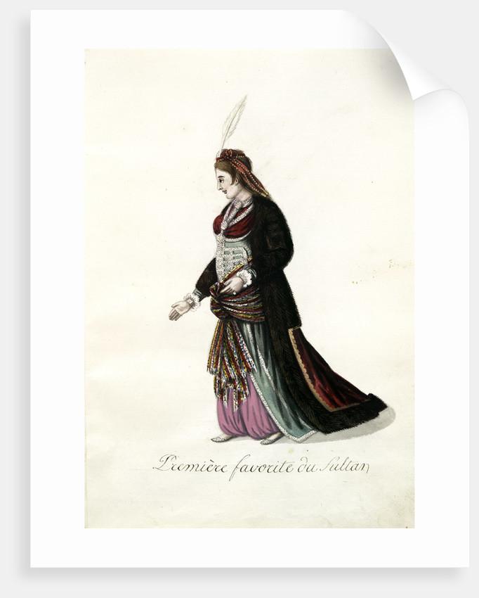 Première favorite du sultan by Mahmud II