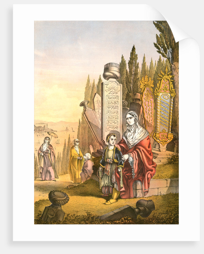 Turkish and Armenian ladies, woman of Turkey and of Armenia, Travels through Turkey 1862 by Henry J. Van Lennep
