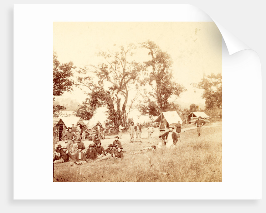 Camp in Monument Garden, Chattanooga, USA by Anonymous