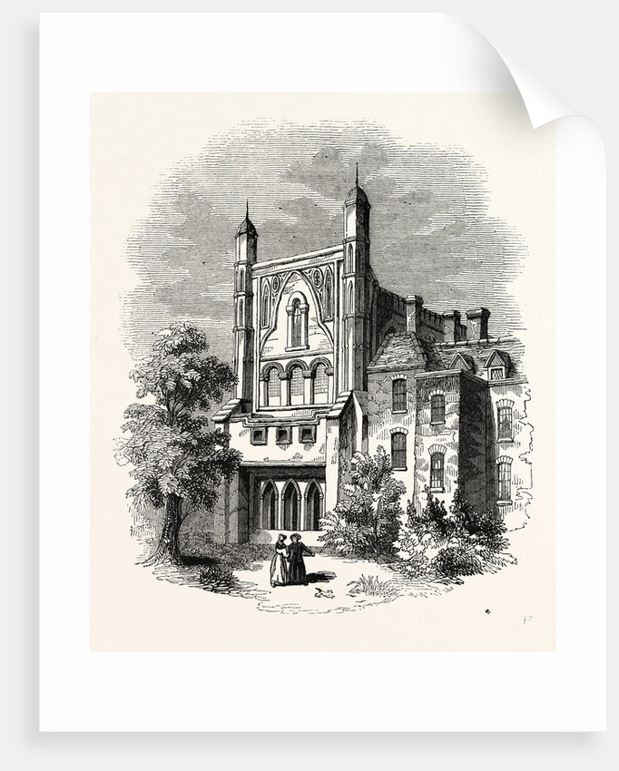 St. Stephen's Chapel, Thames, London by Anonymous