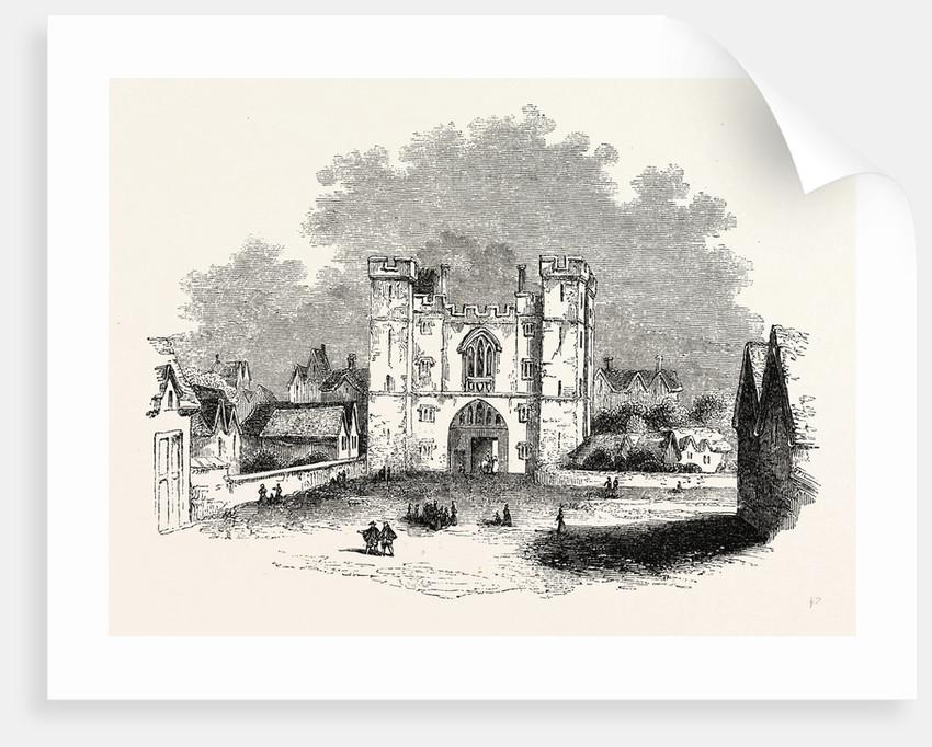 St. John's Gate Hollar, London by Anonymous