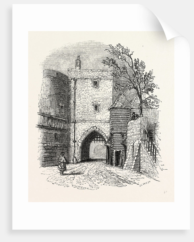 Tower entrance Gates, London by Anonymous