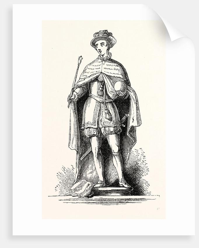 Statue Edward VI., London by Anonymous