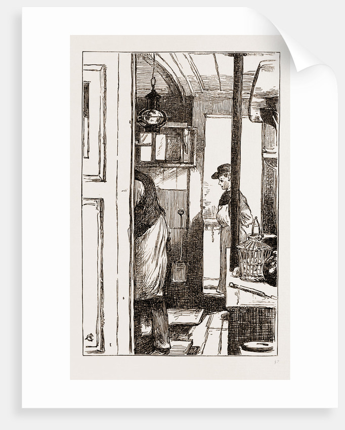 I. The Cook's Galley On The Antwerp Boat pacific by Anonymous