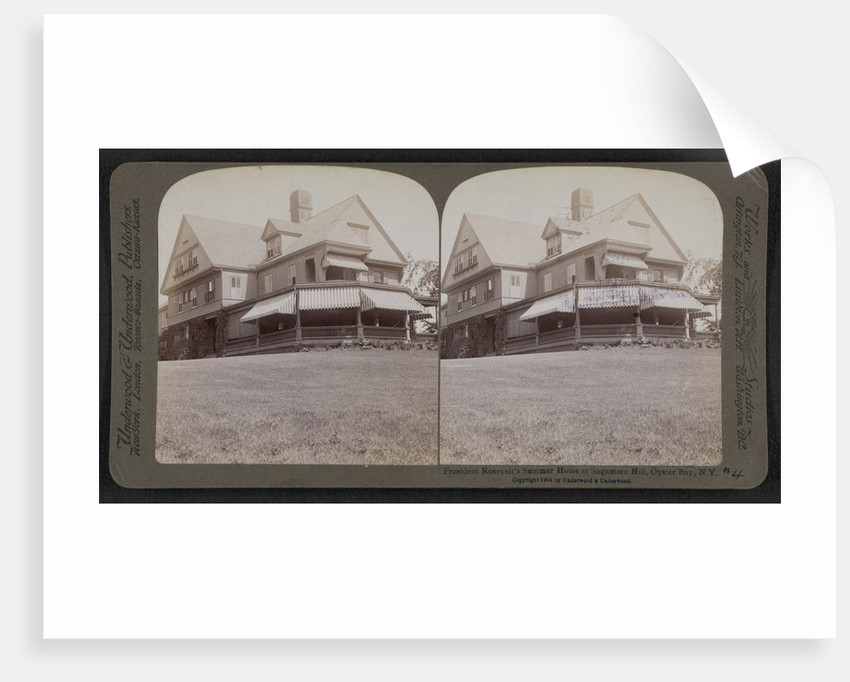 President Roosevelt's summer home at Sagamore Hill, Oyster Bay, N.Y by Anonymous