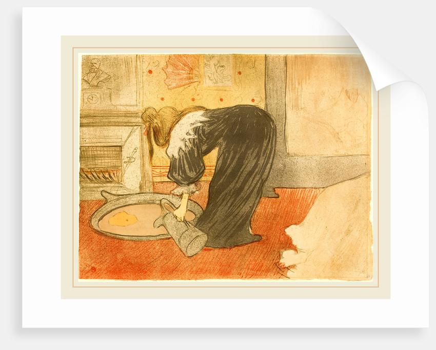 Woman at the Tub, 1896 posters & prints by Henri de Toulouse-Lautrec
