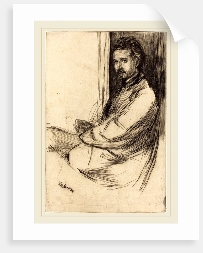 Axenfeld, 1859 by James McNeill Whistler