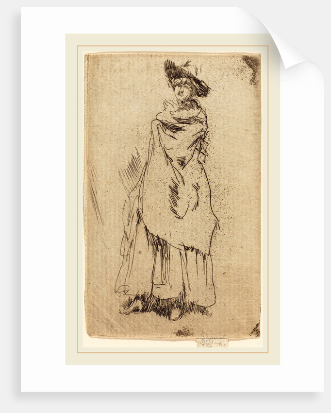 The Mantle by James McNeill Whistler
