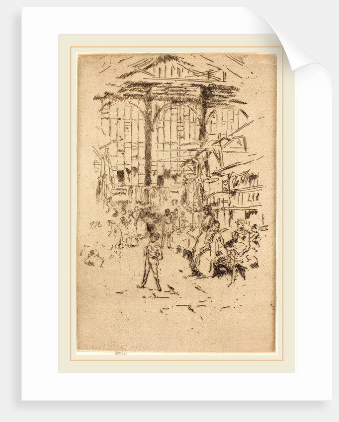 Clothes Exchange, No.II by James McNeill Whistler