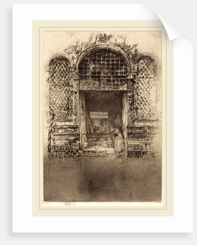 The Doorway, 1880 by James McNeill Whistler