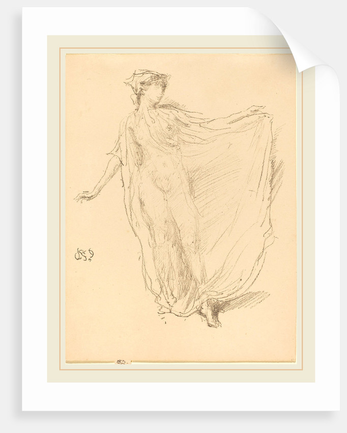 The Dancing Girl, 1890 by James McNeill Whistler