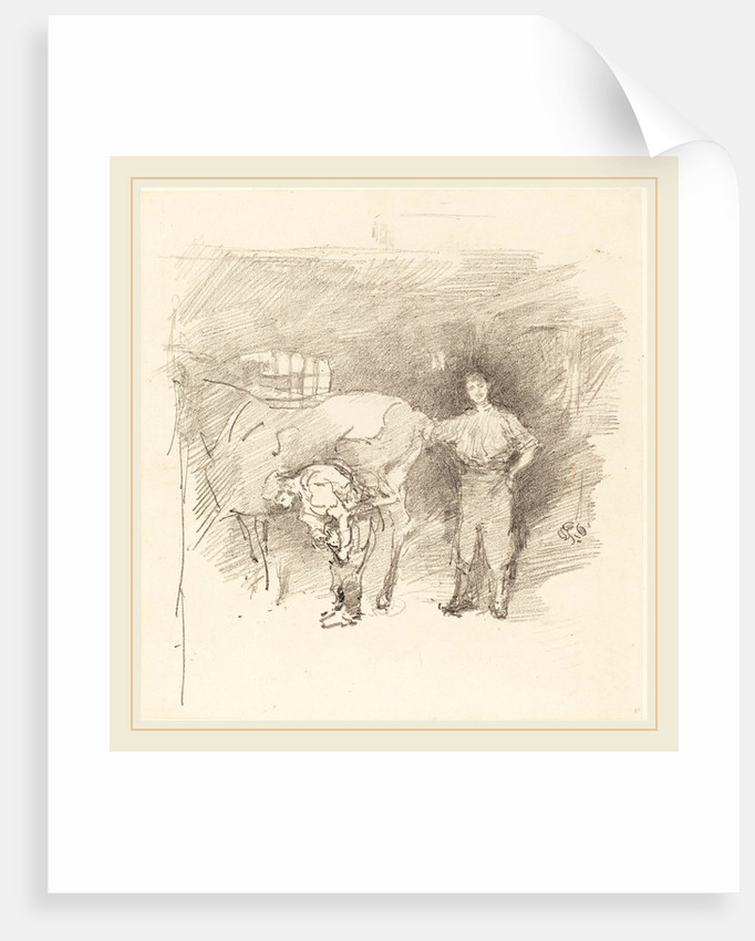 The Farriers, 1888 by James McNeill Whistler