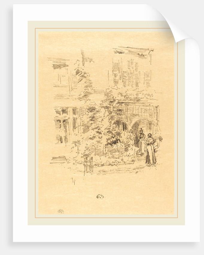 The Garden Porch, 1894 by James McNeill Whistler