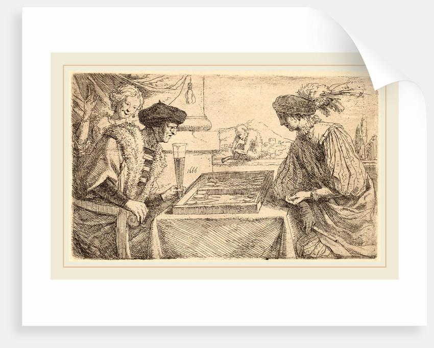 The Board Players, by Leendert van der Cooghen