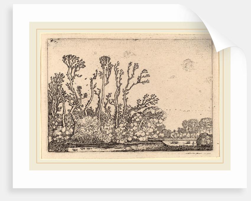Herd of Sheep near the Hague, 1621 by Willem Buytewech