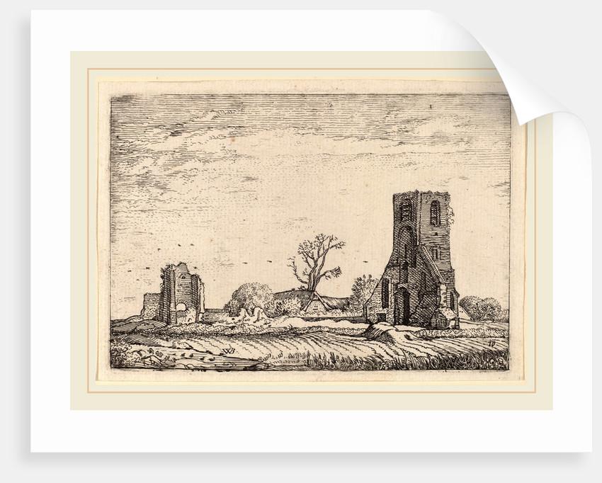 Ruins of a Church, 1621 by Willem Buytewech