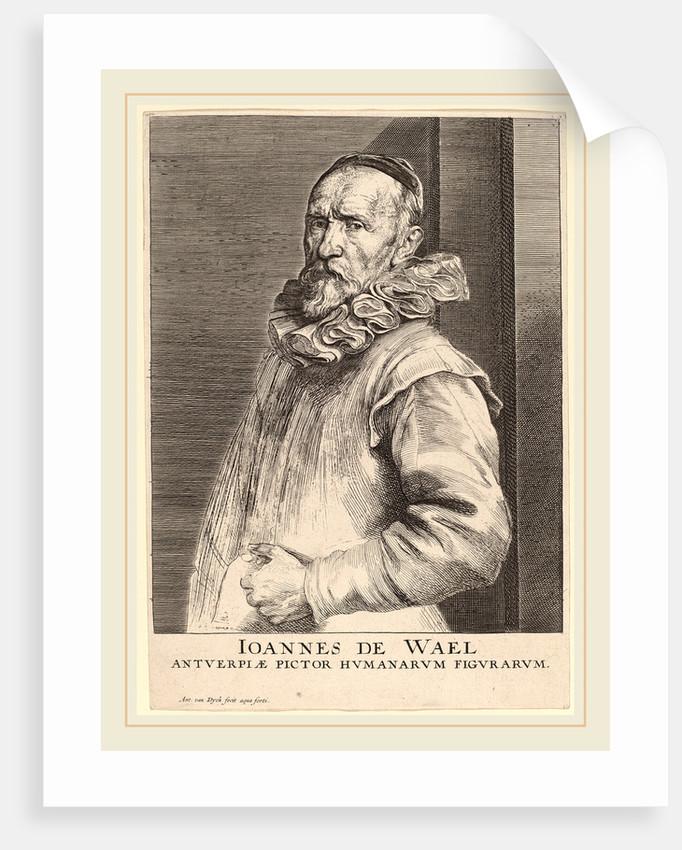 Jan de Wael, c. 1630 by Sir Anthony van Dyck