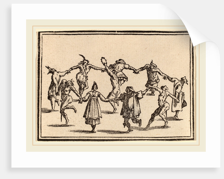 The Dance, 1621 by Edouard Eckman