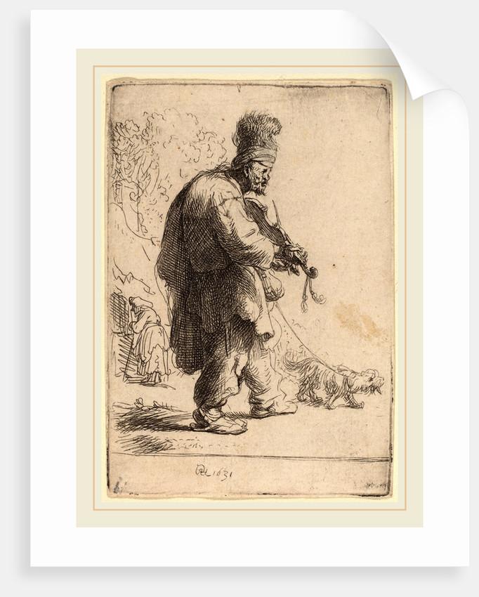 The Blind Fiddler, 1631 by Rembrandt van Rijn