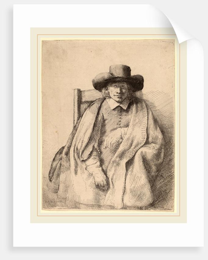 Clement de Jonghe, 1651 by Rembrandt van Rijn