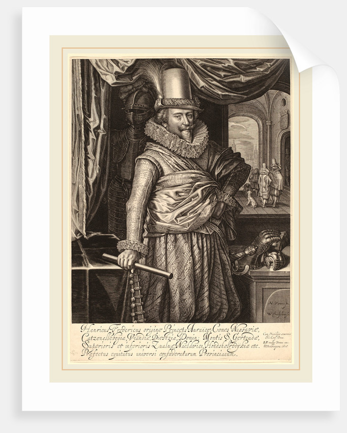 Frederik Hendrik, Prince of Nassau-Orange, 1618 by Willem Jacobsz Delff