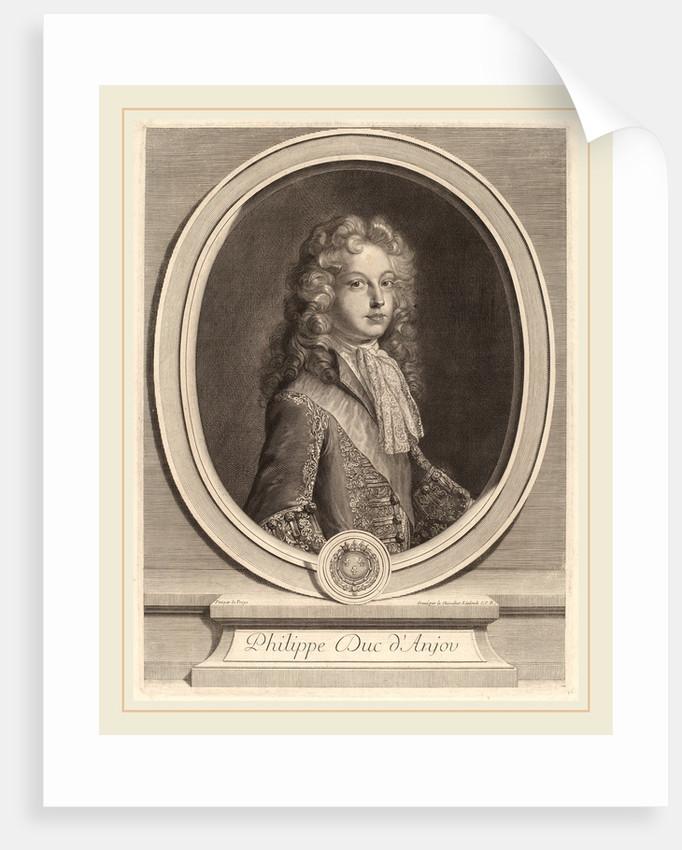 Philippe, Duke of Anjou by Gerard Edelinck