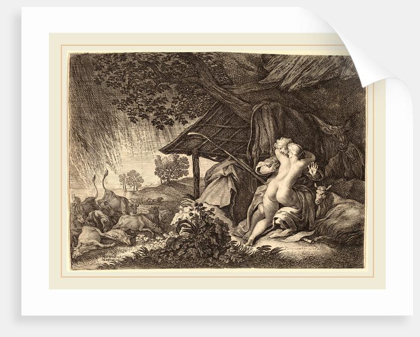A Storm by Moyses van Uyttenbroeck