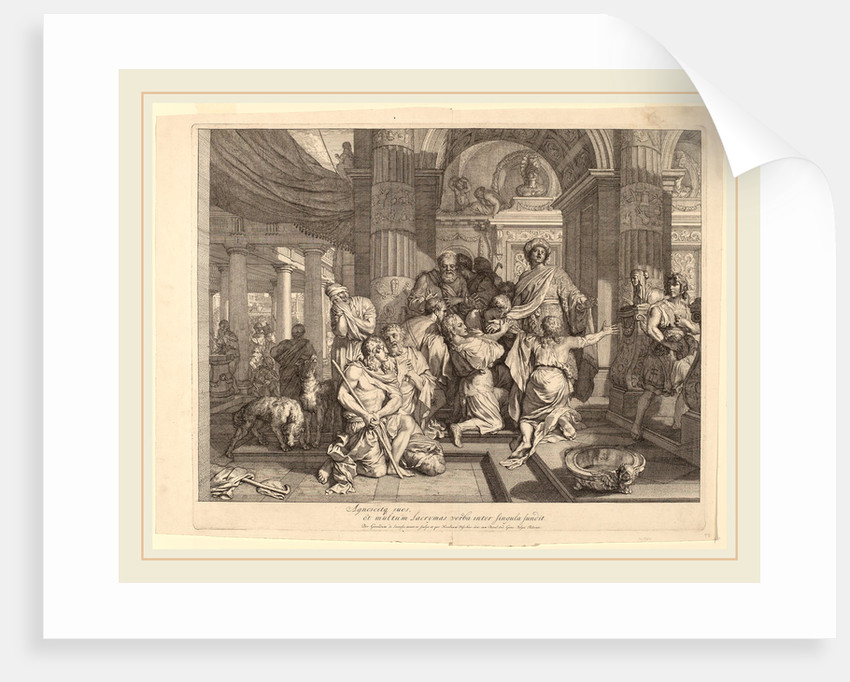 Joseph Reveals Himself to His Brothers by Gerard de Lairesse