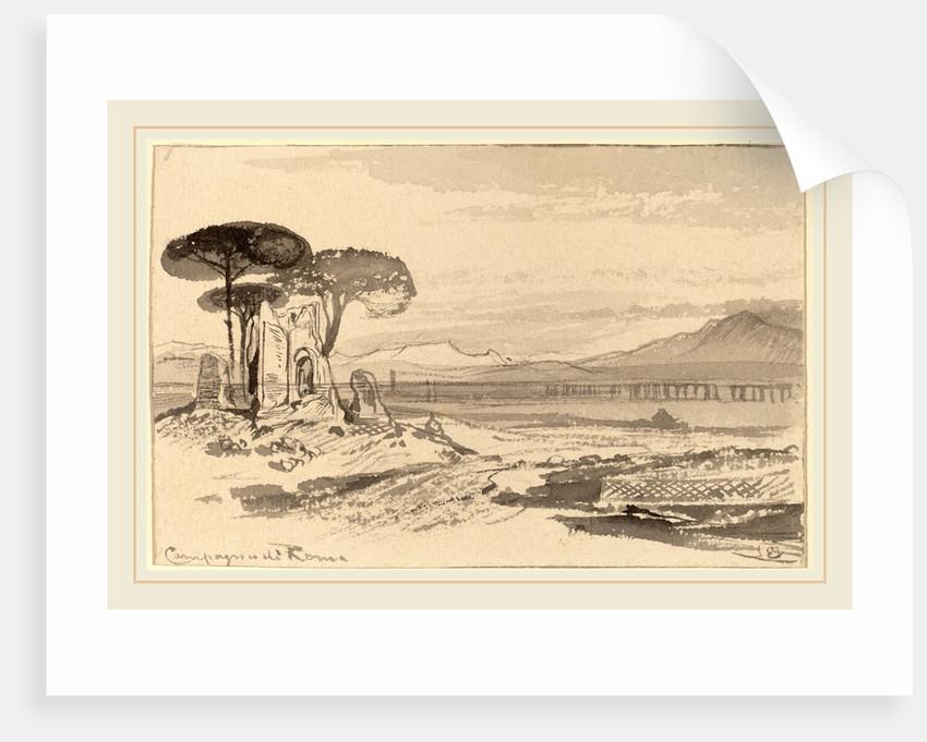 Campagna di Roma by Edward Lear